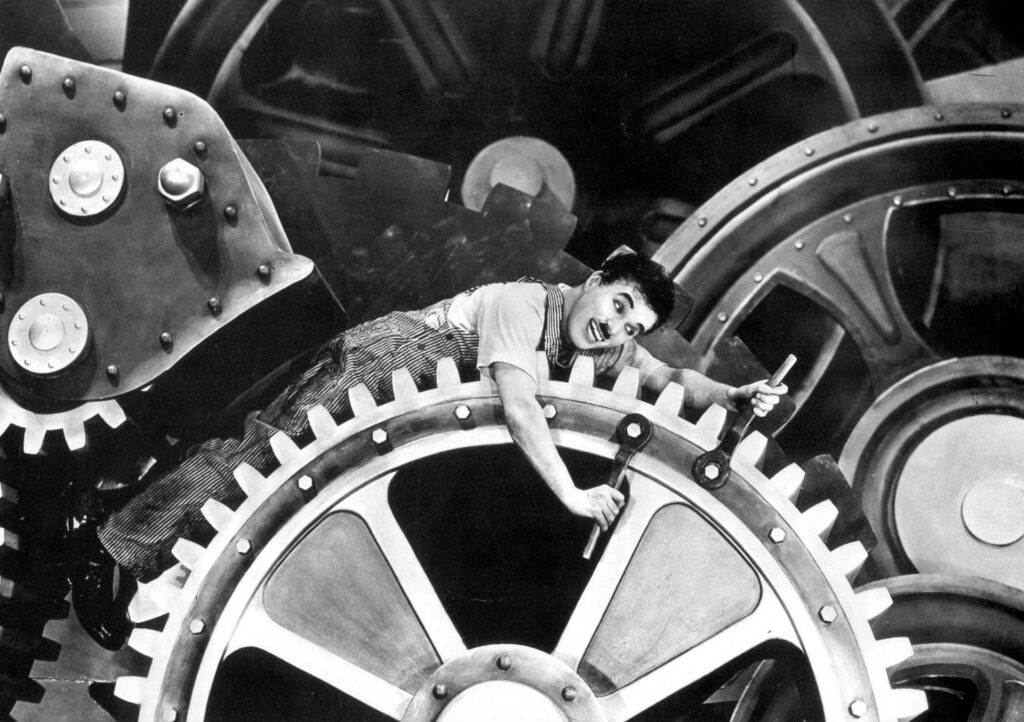 Temps Moderns. Rellotge. Personal Laboral.