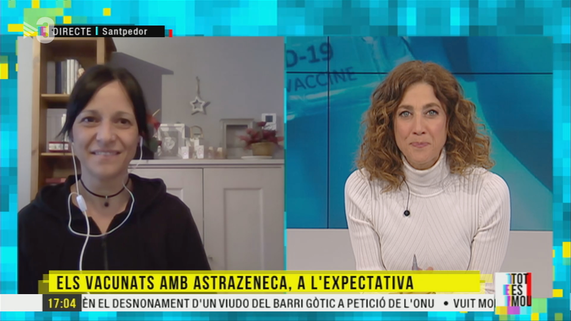 AstraZeneca Iolanda Segura USTEC·STEs Tot es mou TV3
