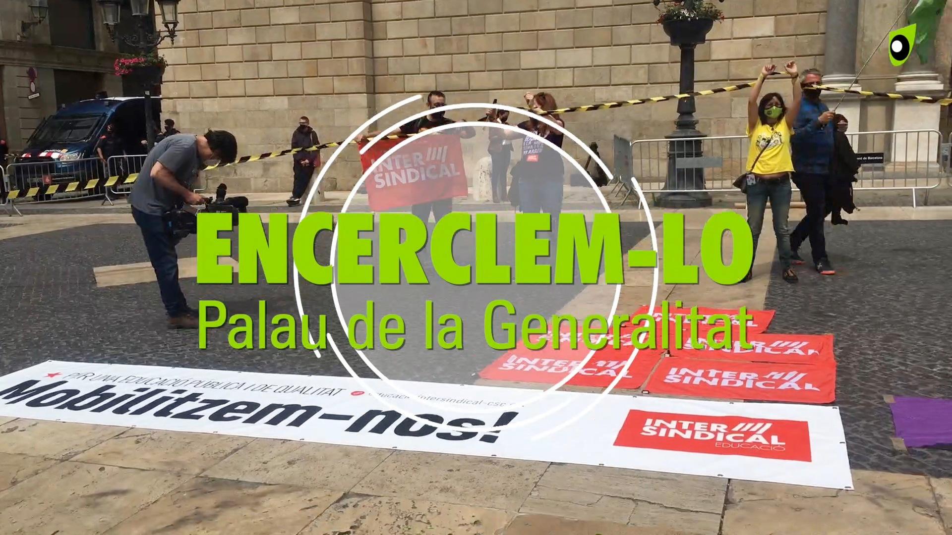 Encelem-lo. Palau de la Generalitat.